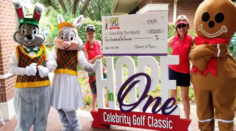 Give Kids The World Hope In One Celebrity Golf Classic Raises Record