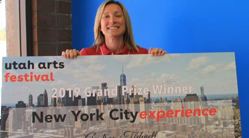 GTN Utah Art Festival Winner - New York Experience