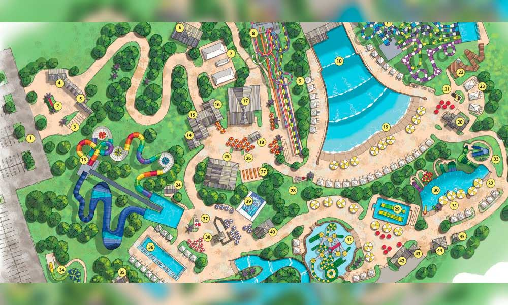 Brand New 50 Acre Soaky Mountain Waterpark Coming To Sevierville Tn 2020 By Adg Timeshare News Amp Resort Magazine Resort Trades