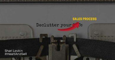declutter your sales process shari levitin
