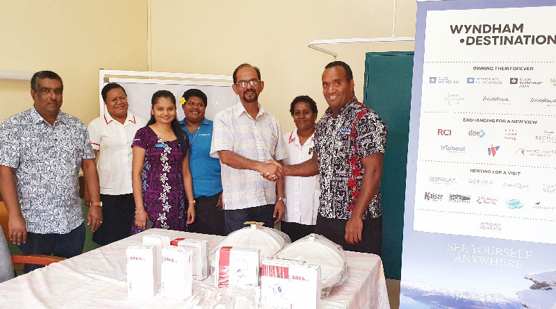 Wyndham Denarau Island have donated equipment to Nadi Hospital's maternity unit