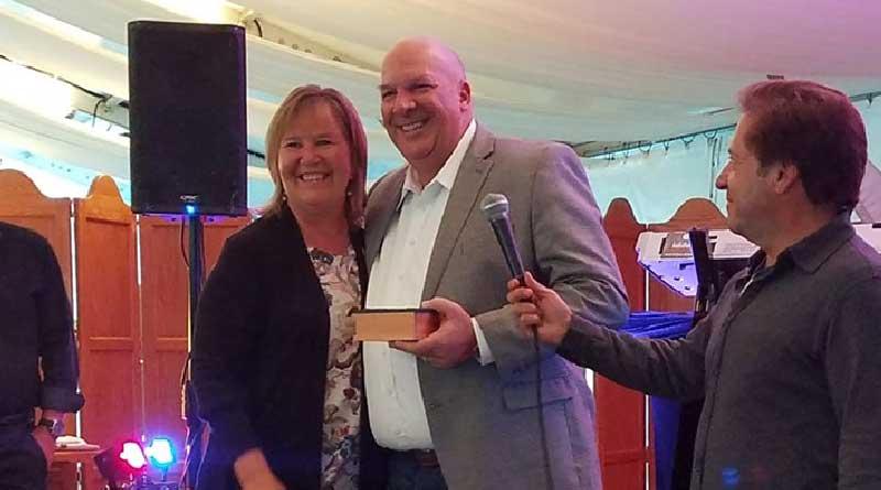 Crist Wins CVOA Cornerstone Award at Vo-Con 2019