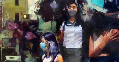 Mike Ryczek oil painting South Korea