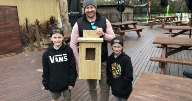 workshops to create wooden possum nest boxes