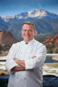 Thomas Hartwell as Executive Chef of Garden of the Gods Resort and Club