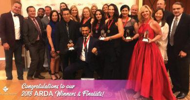 2018 ARDA World Winners and Finalists