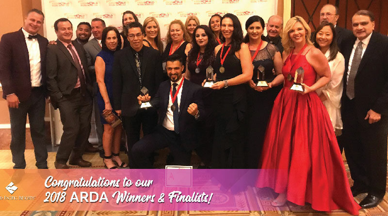 2018 ARDA World Winners and Finalists