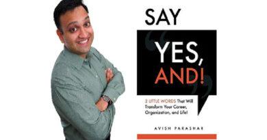 Avish Parashar, Motivational Improviser