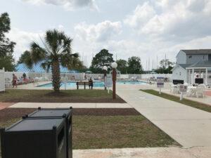 Resort Pool View