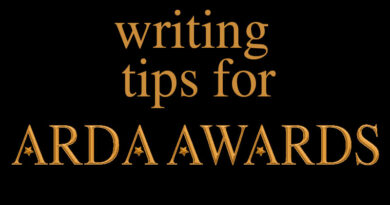 writing tips for arda awards