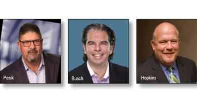 Greg Pesik, Matthew Busch and Gregg Hopkins team