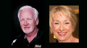 Tom Lyons and Melanie Gring