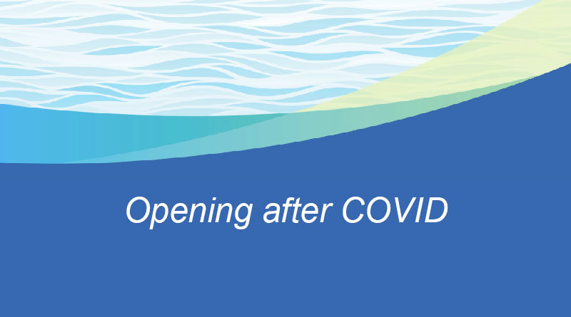 Opening after COVID