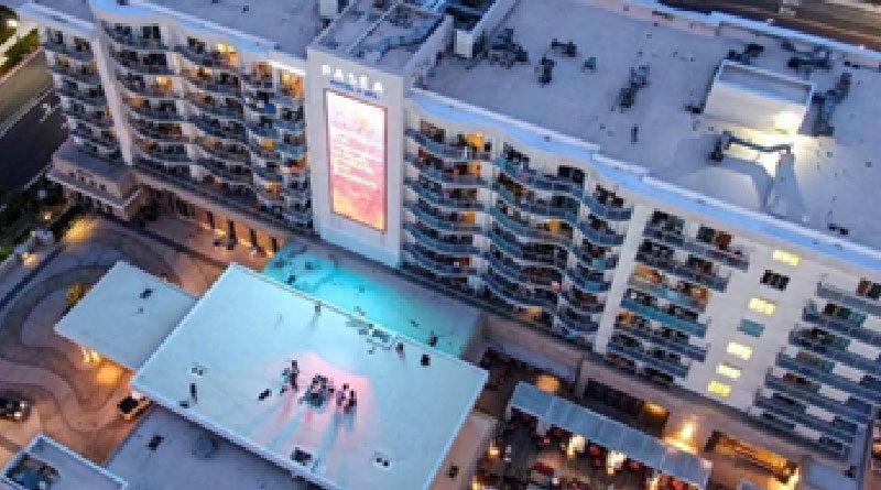 Resort during pandemic