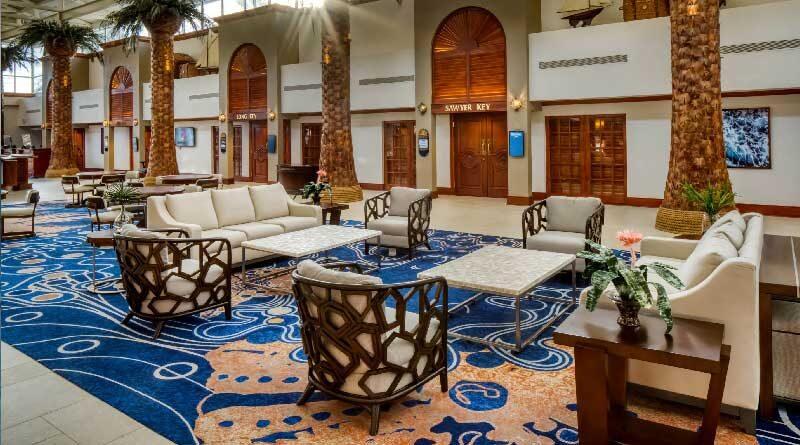 TradeWinds Island Resorts Lobby 2020