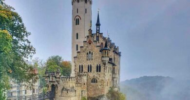 Lichtenstein Castle just outside of Stuttgart, Germany.