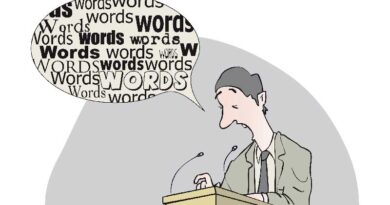 A word … about words.