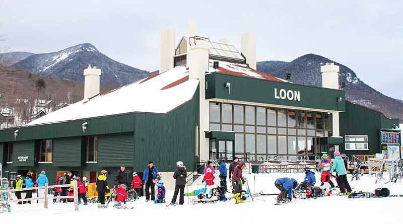 Beautiful Loon Mountain Ski Resorts in Lincoln, NH.