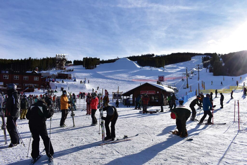 Breckenridge is a Colorado town at the base of the Rocky Mountains' Tenmile Range. It`s known for its ski resort, year-round alpine activities and Gold Rush history.