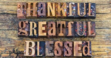 Thankful Greatful Blessed